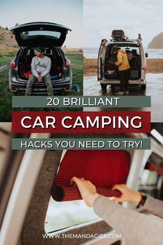 Auto Camping, Camping Hacks, Van Camping, Camping And Hiking, Camping Life, Outdoor Camping, Camping Survival, Truck Camping, Cool Camping Gear