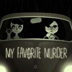 Here's the animation by @hellodabwood that we mentioned in the last episode. Can you even?! #Murderino #myfavoritemurder