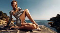 Eniko Mihalik in 'La Costa Brava' - Photographed by Nico (Harper's Bazaar España June 2012)    Complete shoot after the click...