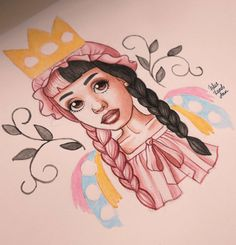 Cry Baby, Art Sketches, Art Drawings, Melanie Martinez Drawings, People Poses, Beautiful Drawings, Kinds Of Music, Fan Art, Illustration
