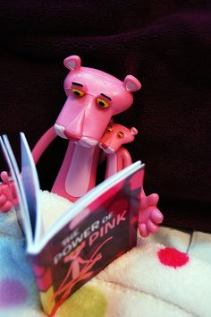 Pink Panther and Mini Pink Panther ...cute