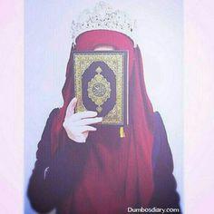 Hijab is my diamond Arab Girls Hijab, Muslim Girls, Hijabi Girl, Girl Hijab, Islamic Girl Pic, Muslim Images, Islam Women, Cute Muslim Couples, Hijab Cartoon