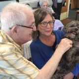 Pet therapy at Riversway