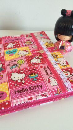 Capa para caderno de vacinas Hello Kitty