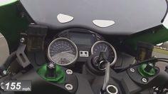 Kawasaki ZZR 1400 High Speed Video - 4Riders