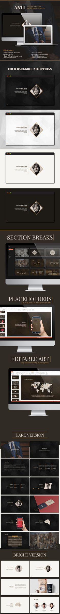UNIDE - Powerpoint Presentation Template Powerpoint presentation - powerpoint proposal template