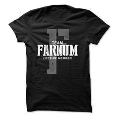 I Love Farnum team lifetime member ST44 T-Shirts
