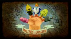 Adventure Time Title Card S5 Ep7 Mystery Dungeon