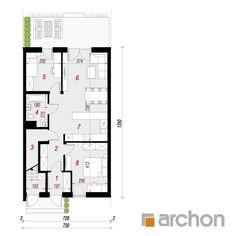 projekt Dom w bratkach 2 (R2S) rzut parteru