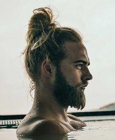 60 Awesome Long Hairstyles For Men Gallery) - Hairmanz Mens Hairstyles Fade, Cool Hairstyles For Men, Boys Long Hairstyles, Haircuts For Men, Hair Massage, Long Beards, Hair Growth Tips, Asian Hair, Man Bun