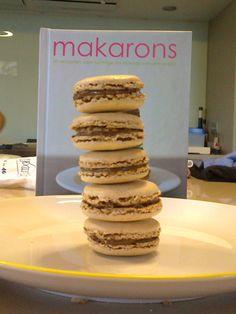 Mmmmm, first self-made Makarons :)
