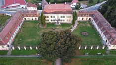 Aerial view of the Brukenthal Summer Palace, Avrig Lazy Summer Days, Words That Describe Me, Medieval Fortress, Summer Palace, Months In A Year, World Heritage Sites, Aerial View, Nice View, Romania
