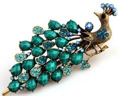 Lovely Vintage Jewelry Crystal Peacock Hair Clips Hairpins- For Hair Clip Beauty Tools Jolin http://www.amazon.com/dp/B00CKSHLKM/ref=cm_sw_r_pi_dp_KN4Vtb0XQ9NAVN69