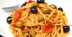 Mennyei Olívás-szardellás spagetti recept! Spaghetti alla puttanesca, magyarul olívás-szardellás spagetti recept. Isteni olasz egytálétel recept, a nemzetközi, és az olasz konyha szerelmeseinek! Isteni finom, próbáld ki Te is ezt a szuper receptet! ;)