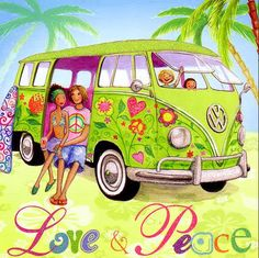 Love and peace Mila Marquis