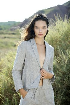 SS18 Cold, Blazer, Jackets, Collections, Natural, Women, Fashion, Vestidos, Knitwear