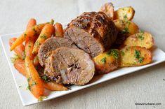 Romanian Food, Cordon Bleu, Saveur, Pot Roast, Meatloaf, Beef, Cooking, Ethnic Recipes, Unt