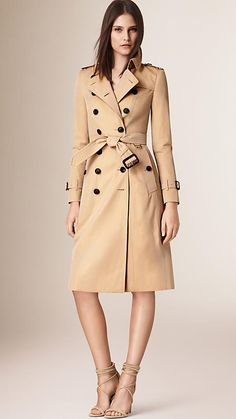 The Chelsea –Extra-long Heritage Trench Coat
