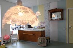 diy doily lamps in the rasalila D.I.Y. atelier