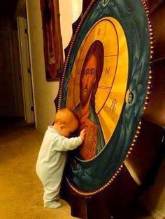 Finding Christ the Orthodox way. Jesus Christus, Orthodox Christianity, Jesus Pictures, Angel Pictures, Blessed Mother, Roman Catholic, Religious Art, Holy Spirit, Prayers
