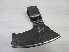 VTG 1.78 LBS GOOSEWING BEARDED BROAD GERMAN HATCHET AXE HEAD HANMADE FORGED