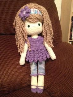 My Crochet Doll, Amigurumi Doll, Crochet Doll,☆