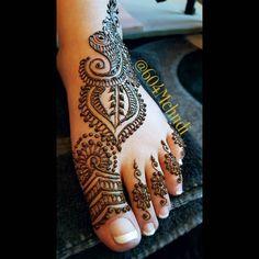 The details on Amars' bridal feet mehndi  Mehndi Designs by '604 Mehndi by…