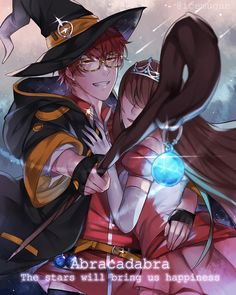 MM RPG - The stary wizard and his princess by Ice-mugan