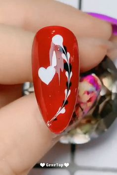 nail designs easy step by step ; nail designs easy step by step at home ; Red Nail Art, Pretty Nail Art, Pink Nails, Nail Art Hacks, Nail Art Diy, Easy Nail Art, Nail Art Designs Videos, Nail Art Videos, Bright Summer Acrylic Nails