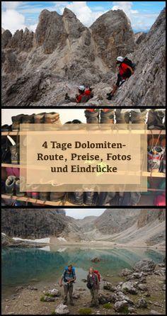 Eine Hüttentour, bis ins letzte Detail beschrieben. Mit Fotos zum Motivieren und Route und Preisen zum Umsetzen :) . #hüttentour #dolomiten #rosengarten #südtirol #wandern #weitwandern