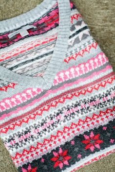 more fair isle inspiration. #fair_isle