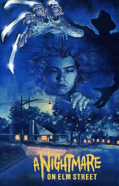 A Nightmare on Elm Street Nancy Sleeping Poster :: Posters :: Posters & Art :: House of Mysterious Secrets - Specializing in Horror Merchandise & Collectibles Horror Movie Posters, Film Posters, 1984 Movie, Slasher Movies, 80s Movies, Comedy Movies, Joker, Classic Horror Movies, The Dark Crystal