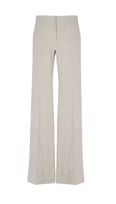 2850941344682 Tibi - Anson Stretch Flared Pants Flare Pants