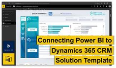 banner-connecting-power-bi-to-dynamics-365-crm-solution-template