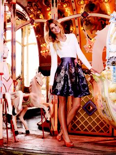 Prisca Skirt & Ida Pearl Cardi