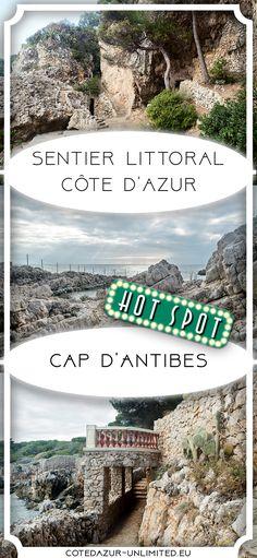 Sentier Littoral am Cap d'Antibes – ein Stück Küstenwanderweg Cannes, Provence, Theoule Sur Mer, Cap D Antibes, Spots, Strand, Camping, City Photo, Road Trip