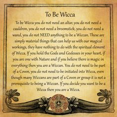 To Be Wicca; Putting Right All The Misunderstanding About Our Beliefs Wiccan & Pagan @realalternativesite.com #RAS