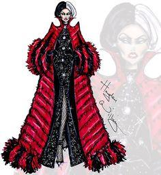 "Cruella de Vil collection by Hayden Williams ""Revengeful in Red"""