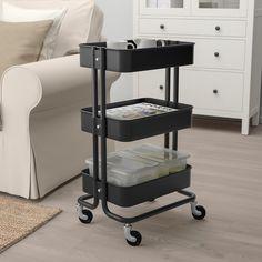Ikea Raskog, Raskog Trolley, Raskog Utility Cart, Kitchen Island Trolley, Kitchen Cart, Kitchen Islands, Extra Storage Space, Storage Spaces, Ikea Inspiration