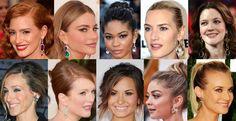 Jessica Chastain, Sofia Vergara, Chanel Iman, Kate Winslet, Drew Barrymore, Sarah Jessica Parker, Julianne Moore, Demi Lovato, Sarah Hyland, & Diane Kruger.