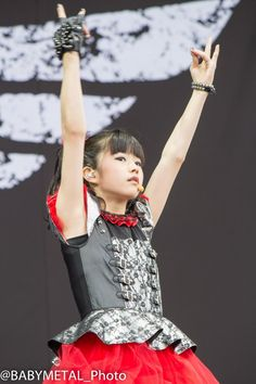 BABYMETAL@Sonisphere2014 UK 5 July 2014
