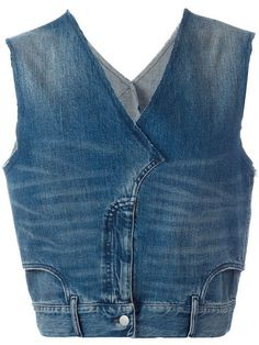 Source by ChristStein Designer Waistcoats & Men's Vests - Luxury Shop Maison Margiela jean denim vest. Source by ChristStein Red Vest Mens, Denim Vest Men, Jeans Denim, Denim Top, Tweed Vest, Plaid Vest, Denim Jackets, Salopette Jeans, Waistcoat Men