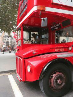 Taken on Trafalgar Square Routemaster, Trafalgar Square, London Transport, The World's Greatest, Explore, City, British, England, Red