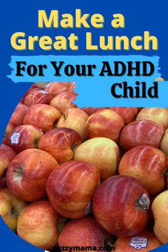 These ideas for creating a healthy school lunch for your ADHD kiddo are easy and budget friendly. Get ideas for what NOT to include for ADHD kids, as well.