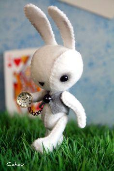 ☃ Plush Toy Preciousness ☃  White Rabbit