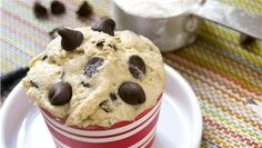 Doliciously Edible Classic Chocolate Chip Cookie Dough (from the founders of Cookie Do in NYC)