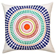 You can create your own custom designer accent pillows with our Funky Wheel stencil kit! By Cutting Edge Stencils. Designer Pillow, Designer Throw Pillows, Pillow Design, Personalized Pillows, Custom Pillows, Decorative Throw Pillows, Stencil Painting, Fabric Painting, Stenciling