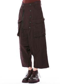 Hose von RUNDHOLZ bei nobananas mode #nobananas #rundholz #fw16 #pants #wool #zipper #comfort #fit #decoration #black
