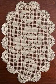 Advanced Embroidery Designs - Wild Rose FSL Crochet Doily
