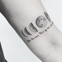 'Like the moon, part of her was always hidden' 🌙✨🖤 Thanks Emma! Cresent Moon Tattoo, Lauren Shaw, Print Tattoos, Tattoo Ideas, Thankful, Instagram, Tatuajes